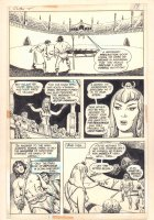 Claw the Unconquered #2 p.11 - Claw in Fighting Pit with Monster - 1975 Comic Art