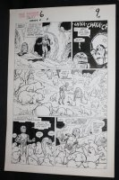 Droids #6 p.7 - Star Wars - C-3PO and R2-D2 with Mole Creatures - 1987 Comic Art