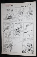 Droids #6 p.10 - Star Wars - C-3PO and R2-D2 in the Desert - 1987 Comic Art