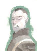 Doctor Strange Painted Art Commission - 2016 Signed Comic Art
