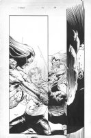 Cable #86 p.13 Comic Art