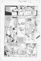 Four Horsemen #1 p.13 Comic Art