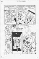 Four Horsemen #1 p.14 Comic Art