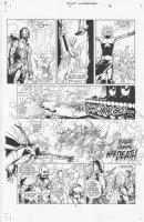 Four Horsemen #1 p.4 Comic Art