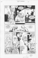 Four Horsemen #1 p.7 Comic Art