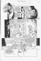 Four Horsemen #1 p.8 Comic Art