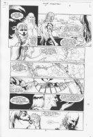 Four Horsemen #1 p.9 Comic Art