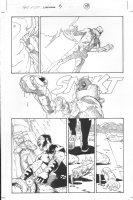 Dark Reign: The List - Wolverine #1 p.19 (inks by Tom Palmer) Comic Art