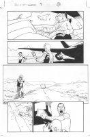Dark Reign: The List - Wolverine #1 p.21 (inks by Tom Palmer) Comic Art