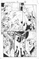 Dark Reign: The List - Wolverine #1 p.6 (inks by Tom Palmer) Comic Art