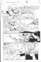 Dark Reign: The List - Wolverine #1 p.8 (inks by Tom Palmer) Comic Art