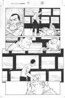Dark Reign: The List - Wolverine #1 p.9 (inks by Tom Palmer) Comic Art