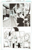 Batman: The Dark Knight #17 p.8 - Alice Dee and Jervis Tetch Flashback - 2013 Comic Art