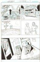 Batman: The Dark Knight #17 p.17 - Alice Dee and Jervis Tetch Dream Sequence - 2013 Comic Art