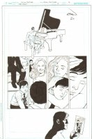 Batman: The Dark Knight #18 p.16 - Bruce Wayne Flashbacks to his Childhood - 2013 Signed Comic Art
