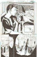 Batman: The Dark Knight #18 p.18 - Bruce Wayne Shows Natalia Trusevich His Secret Identity - 2013 Signed Comic Art