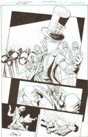 Batman: The Dark Knight #18 p.19 - The Mad Hatter Kills and Loses It - 2013 Signed Comic Art