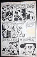 Bulls Eye #4 p.5 - LA - Ghost Town Ambush! - 1955 Comic Art
