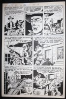 Bulls Eye #4 p.7 - LA - Ghost Town Ambush! - 1955 Comic Art