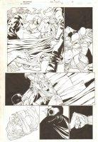 JSA: Classified #24 p.3 - Dr. Mid-Nite III Action - 2007  Comic Art