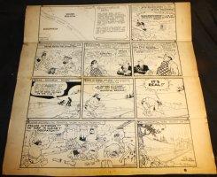 Li'l Abner Sunday Strip - 9/8/1940 Signed Comic Art