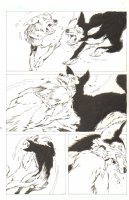 God the Dyslexic Dog p.17 Dogs Fighting Comic Art