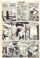 Captain America #133 p.6 - Captain America, Falcon, and Modok - 1971 Signed Comic Art