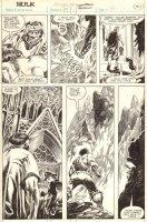 Hulk #19 p.30 - Hulk in a Distorted Reality - 1980 Comic Art
