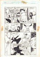Sachs & Violens #4  p.26 - Nun Action - 1994 Double Signed Comic Art