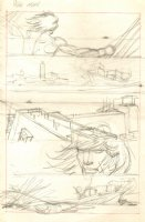 Conan p.9 Pirates Pencil Prelim Comic Art