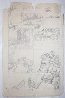 Amazing Spider-Man #102 p.34 Prelim - Spidey Face - Signed Comic Art