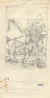 Blackmark Paperback Prelim p.62 - LA - 1971 Signed Comic Art
