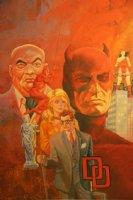 Daredevil Montage Print - LA - 1987 Signed Comic Art