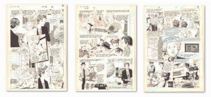 Lois Lane #2 pgs. 6, 7, & 9 - Child Abduction - Sold as a 3 Page Set - 1986 Comic Art