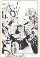 Incredible Hulk #108 Cover - World War Hulk, Miek, and Rick Jones - 2007 Signed Comic Art