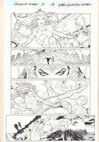 Uncanny X-Men #13 p.18 - Mystique Action - 2016 Comic Art