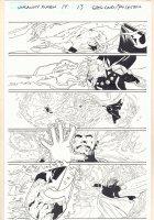 Uncanny X-Men #13 p.13 - Magneto vs. Exodus - 2016 Comic Art