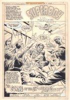 Superman Family #195 p.3 - Superboy Title Splash - 1979  Comic Art