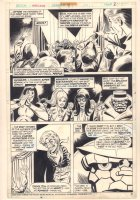 Marvel Two-In-One #99 p.22 - Thing and the F4 as Puppets - 1983 Comic Art