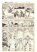 Marvel Team-Up #115 p.19 - Spider-Man & Quasar - 1982 Comic Art