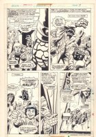 Marvel Two-In-One #9 p.3 - Thing - Romita Sr. Faces - 1975 Comic Art