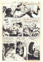 G.I. Combat #131 p.8 - 'A Promise to 3 Dead Buddies' - Action vs. Nazi - 1968 Comic Art