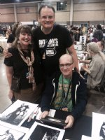 Anthony with Living Leg and Bernie Wrightson Comic Art