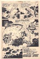 Superman's Pal, Jimmy Olsen #142 p.22 - Superman and Jimmy Olsen Transilvane End Page Splash = 1971 Comic Art