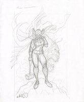 Female Thor Jane Foster Pencil Commission - Signed Comic Art