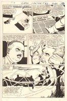 Green Lantern #62 p.9 - Hal Jordan Action - 1968 Comic Art