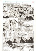 Fantastic Four Unlimited #3 p.33 - Annihilus and Human Torch + Invisible Girl Imprisoned - 1993  Comic Art