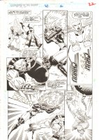 Guardians of the Galaxy #28 p.22 - Titania, Charlie-27, & Absorbing Man Action - 1992  Comic Art