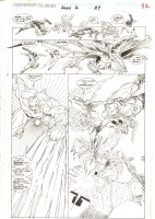 Guardians of the Galaxy Annual #2 p.32 - Team Action - 1992  Comic Art
