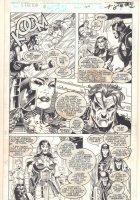 X-Factor #100 p.6 - Havok, Aloba, Haven, & More Action - 1993  Comic Art